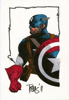 Captain America - Travis Charest