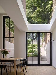 Patio Interior, Home Interior Design, Interior Architecture, Interior And Exterior, London Architecture, Light In Architecture, Best Home Design, Interior Windows, Interior Colors