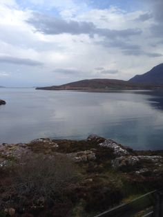 Ardmair bay in the morning. Dead calm........