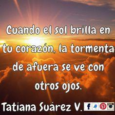 #CuandoElSolBrillaEnTuCorazón #Sonríe #Armonía #Bienestar #AquíyAhora #PoderPersonal #Amor  #Medellín #Ekánta #Espiritualidad #TatianaSuárezV #Alegría #Reiki #Consciencia
