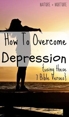 These bible verses for depression have changed my life. In this post, I want to help show you how to believe what God says and hide His Word in your heart so you can win against depression. With time, these bible verses for depression will renew your mind.