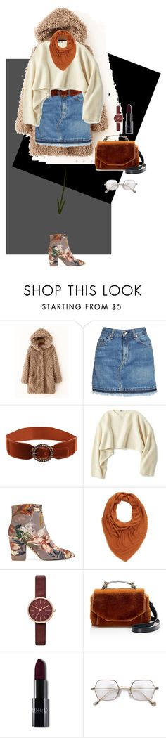 """Başlıksız #555"" by asmallant ❤ liked on Polyvore featuring rag & bone/JEAN, Uniqlo, Nine West, Charlotte Russe, Skagen and Maje"