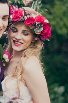 Photo from Whimsical English Garden Wedding Inspirational shoot collection by Ashley Edwards Photography
