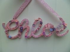 Available to order at www.facebook.com/hayleyshearts Made to order. £3 per letter