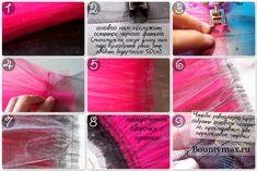 Мастер класс: как сшить юбку пачку из фатина своими руками