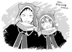shirayuki & obi | akagami no shirayukihime