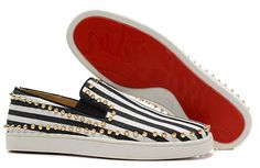 Fashion zebra pattern, Let your him or her find you at first saw in the crowd.with dust bag&box, high quality christian louboutin  flats red bottom rivets men women  sneakers 36-46, just 78 dollars. Want detail pictures,more styles and brands? please contact me.