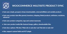Download WooCommerce Multisite Product Sync Nulled Latest Version