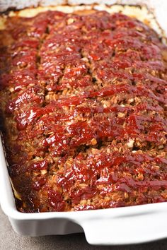 Not your mama's meatloaf recipe. Packed full of amazing flavor, my family love… Not your mama's meatloaf recipe. Packed full of amazing flavor, my family loves this easy meatloaf recipe so much. It makes the best meatloaf sandwiches too. Best Meatloaf Recipe With Oatmeal, Classic Meatloaf Recipe, Good Meatloaf Recipe, Meat Loaf Recipe Easy, Meat Recipes, Cooking Recipes, Mini Meatloaf Recipes, Meatloaf With Oats, Gluten Free Meatloaf