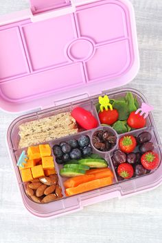 Yumbox bento lunch. Lunchbox and similar food forks available in NZ from www.thelunchboxqueen.co.nz