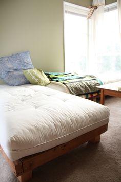 diy futon