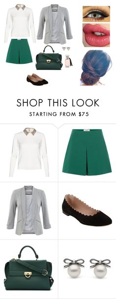 """Sem título 45"" by patriciadomingos ❤ liked on Polyvore featuring Valentino, Miss Selfridge, Chloé, Salvatore Ferragamo and Charlotte Tilbury"