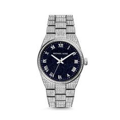 d50c245f1276 MK Outlet Store Online   MICHAEL KORS Channing Moonstone And Silver-Tone  Watch