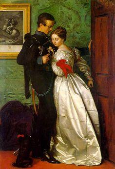 The Black Brunswicker - Millais - An age of romance that seems far away. Lady Lever art gallery - Liverpool