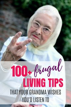 100 Frugal Living tips from Grandma ~ BrightKidFun – Finance tips, saving money, budgeting planner Save Money On Groceries, Ways To Save Money, Money Tips, Money Saving Tips, Saving Ideas, Save Money On Food, Frugal Living Tips, Frugal Tips, Frugal Meals