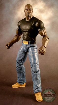 Luke Cage (Marvel Legends) Custom Action Figure