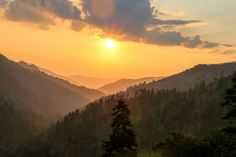 Sunset in the Smoky Mountains | by Dhaval Shah
