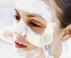 Argila branca na pele