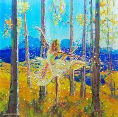 Image of Aspen Dancer - Spirit Of The Trees - Giclee Print