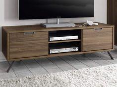 Modern TV Stand Palma Walnut by LC Mobili - $459.00