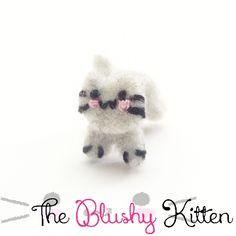 Kitten Ear Cuff by TheBlushyKitten on Etsy