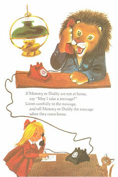 what to do when a lion calls...