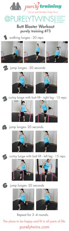 Butt blaster time challenge workout purely training 73. A great home workout to keep your lower half of your body strong during pregnancy! Any one can do this workout.