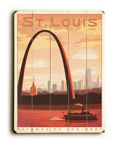 Artehouse St Louis Arch Wood Wall Décor -  Click on This Link & get a $20 Credit on Your First Order!!!  http://www.myhabit.com/ref=qd_mr_per_l?refcust=5WIYB72B73JI72YGCC3HH6RMMQ