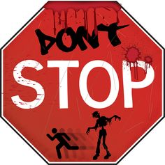 Zombie Stop Sign - Decorations & Props ($13.69)