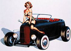hot rods and girls | Hope you're having a Fun Visit !""