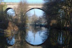 Oise-pont-sur-la-riviere-Oise-Cergy-Pontoise-Creil-Senlis-Chantilly-Compiegne-Noyon-France-Europe.