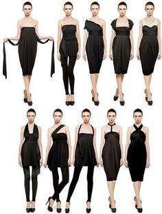 High end Infinity dress by DKNY  Multi-task clothing