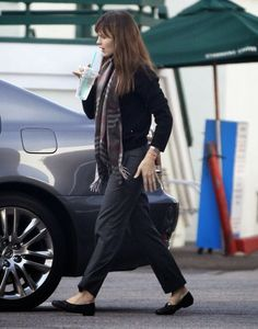Celeb Diary: Jennifer Garner in Brentwood, California