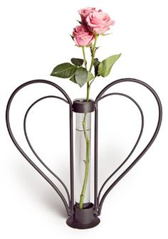 Danya B Sweetheart Iron HeartShaped Bud Vase ** Want to know more, click on the image. (This is an affiliate link and I receive a commission for the sales)