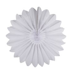 Rosace en papier - 45cm - Blanche