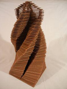 Cardboard Tower by R1NR1N