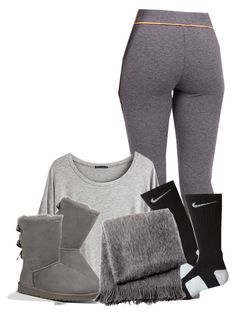 """Goodnight "" by simply-original1993 ❤ liked on Polyvore featuring Chicnova Fashion, NIKE, UGG Australia, From the Road, women's clothing, women, female, woman, misses and juniors"