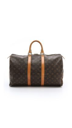 authentic vintage Louis Vuitton duffel bag Have you checked out the trendy duffel bags Basson, Louis Vuitton Keepall 45, Hot Pockets, Just Style, Vuitton Bag, Replica Handbags, Vintage Louis Vuitton, Types Of Fashion Styles, Passion For Fashion
