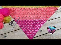 Je vous présente ce magnifique Châle tropical, au crochet. Tutoriel gratuit présenté par Lidia Crochet Tricot. À voir absolument.