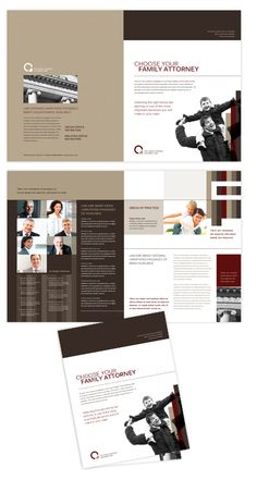Business Leadership Conference Brochure Indesign Template By