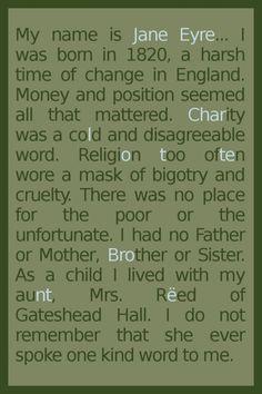 Jane Eyre recover - brilliant