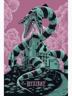 Beetlejuice Poster by sachaw