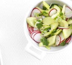 CWK Pickle Pic of the Day -- Pickled radish & cucumber salad #pickles #picklepicoftheday