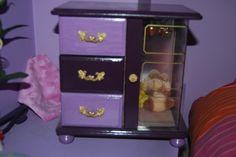 armario joyero pintado
