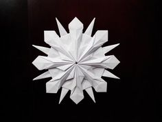 Красивая снежинка, Beautiful snowflake - YouTube