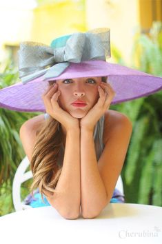 """ --Octavian Paller Add colorful hats to refresh your spring wardrobe! Fancy hats are not just for the Kentucky Derby! Kentucky Derby Fashion, Kentucky Derby Hats, Tea Party Hats, Tea Parties, Fancy Hats, Big Hats, Derby Day, Church Hats, Maxi Robes"
