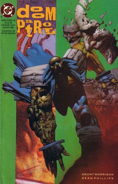 The cover to Doom Patrol #58 (1992), art by Simon Bisley