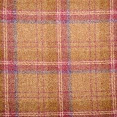 Choose your Tartan or Tweed fabric for your Handmade Footstool. We have a wide range of British Wool including Florence Anne, Balmoral and Ross Tweed. Tweed Fabric, Tartan Plaid, Pink Brown, Soft Furnishings, Florence, Berry, Moon, Pure Products, Interior