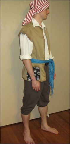 Men's Thrift Store Ren Fest Costume