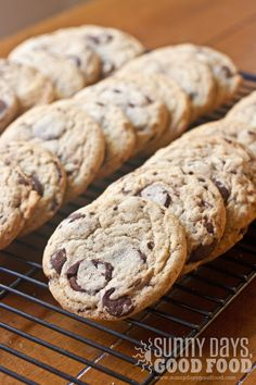 My Mom's Best Chocolate Chip Cookies
